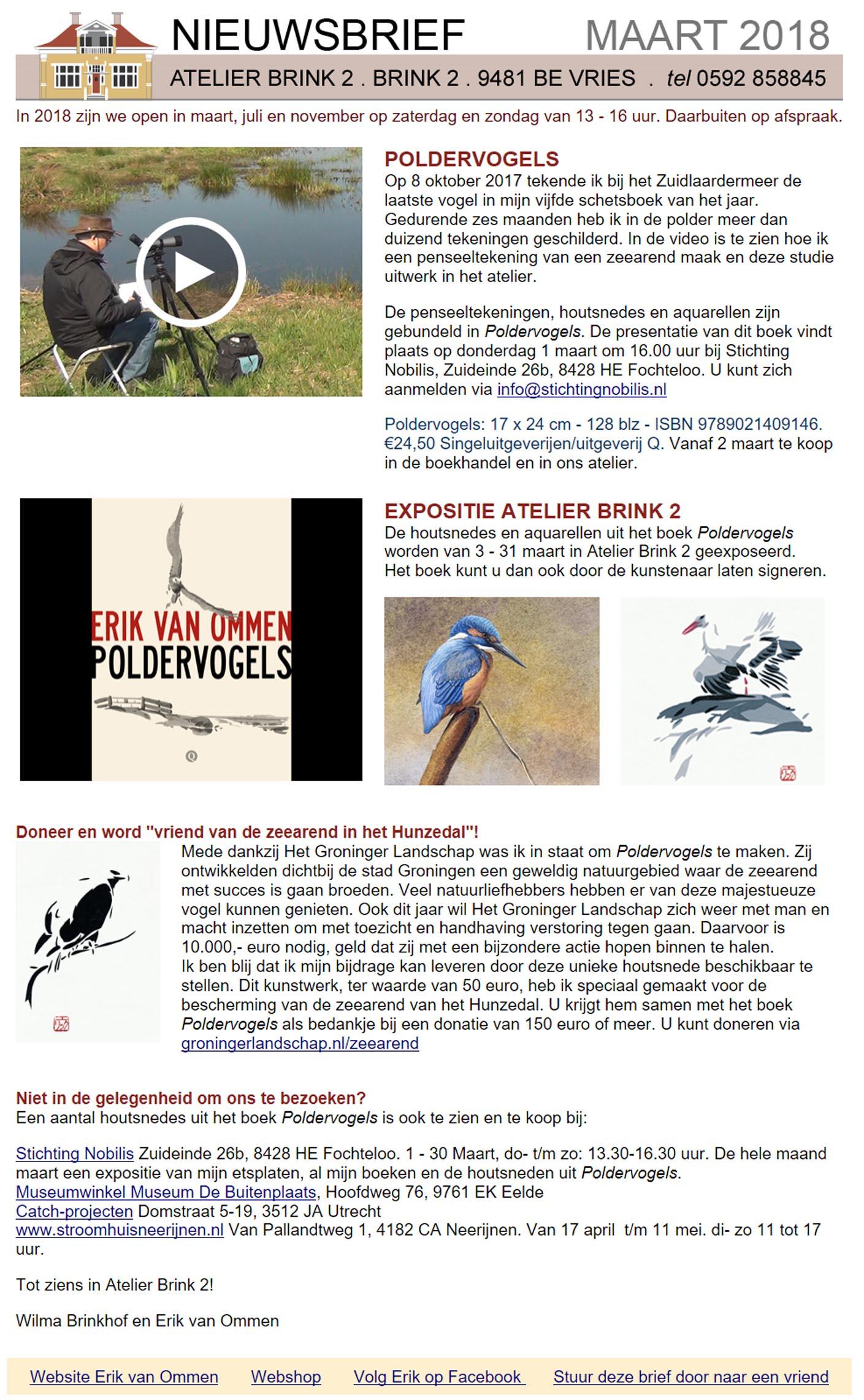 nieuwsbrief poldervogels